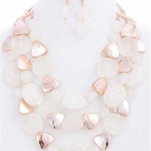 Ivory Stone Necklace